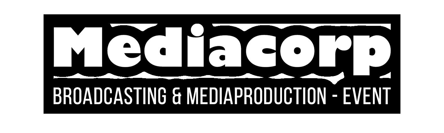 logo mediacorp blanc